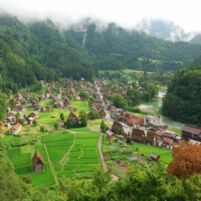 7 Hari Japan Alpine Road Shirakawa Go